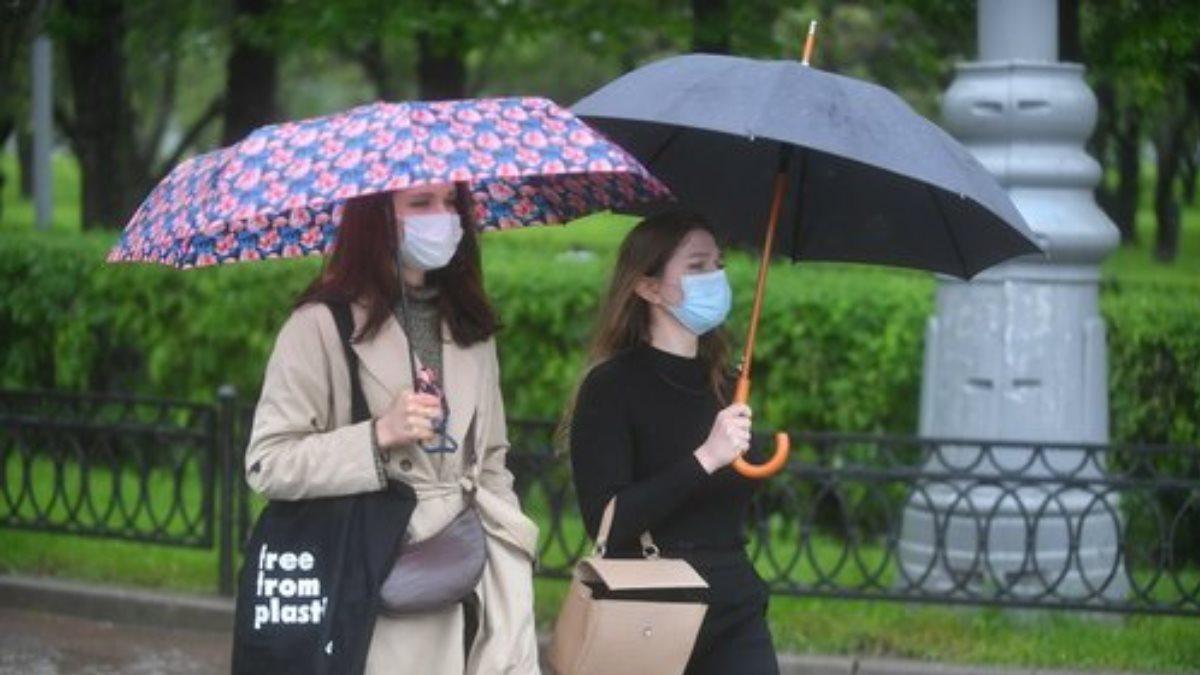 Дождь коронавирус погода девушки