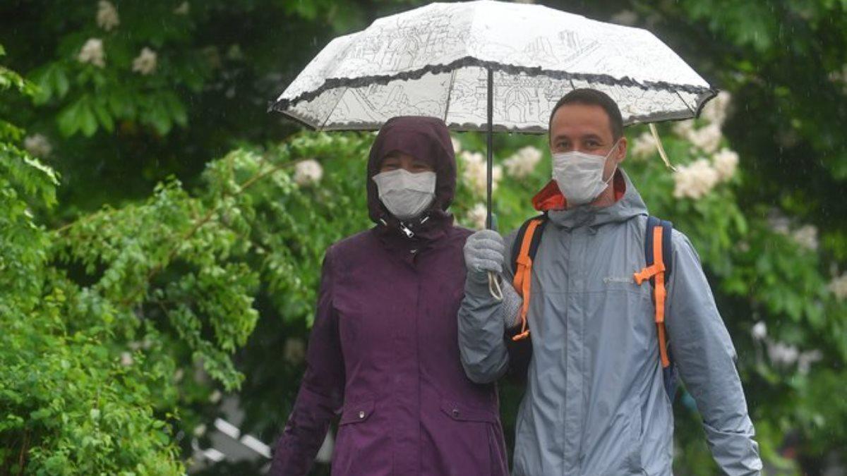 Погода дождь коронавирус