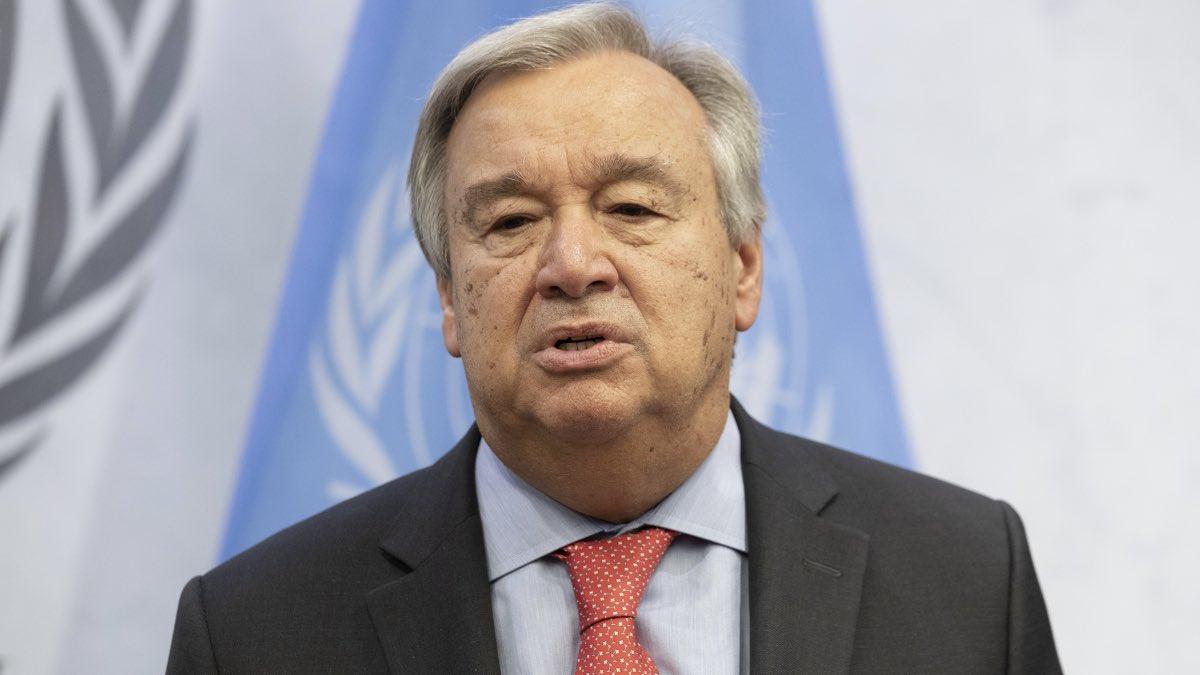 Генеральный секретарь ООН Антониу Гутерреш