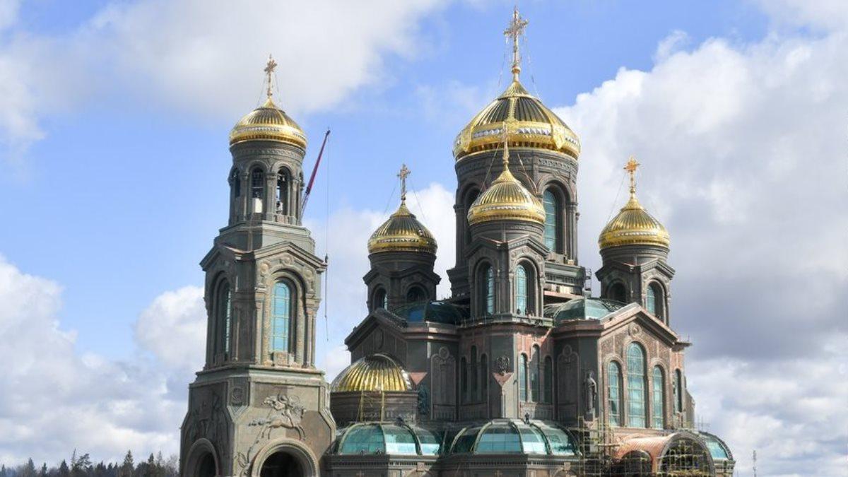 Главный храм Вооруженных Сил РФ близко