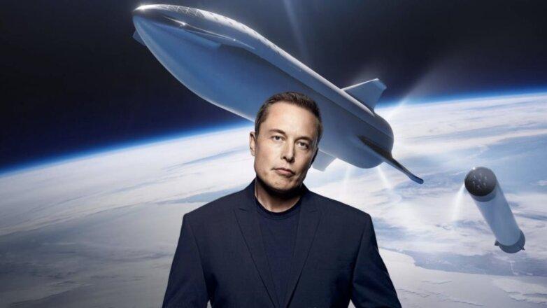 Илон Маск и многоразовая ракета близко