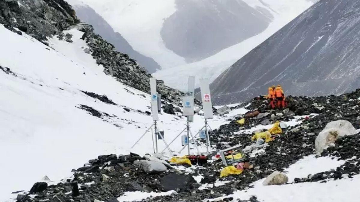 Оборудование для 5G установили на Эвересте