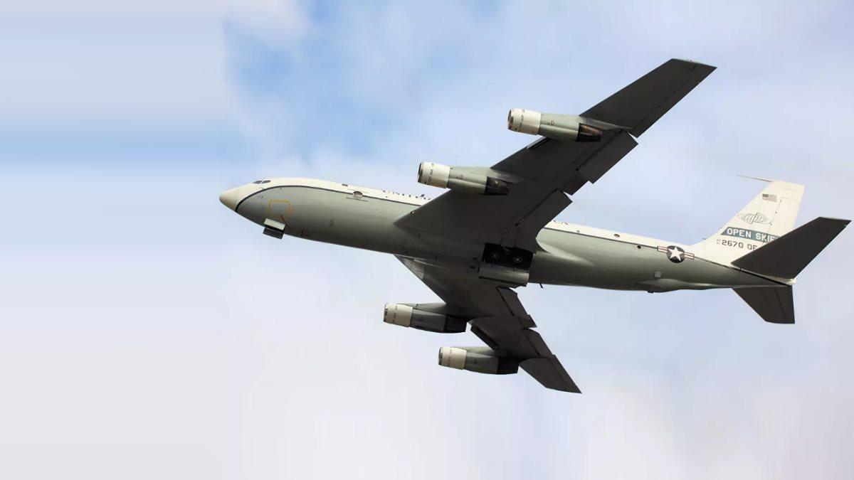 Самолёт наблюдения США Boeing OC-135B Open Skies