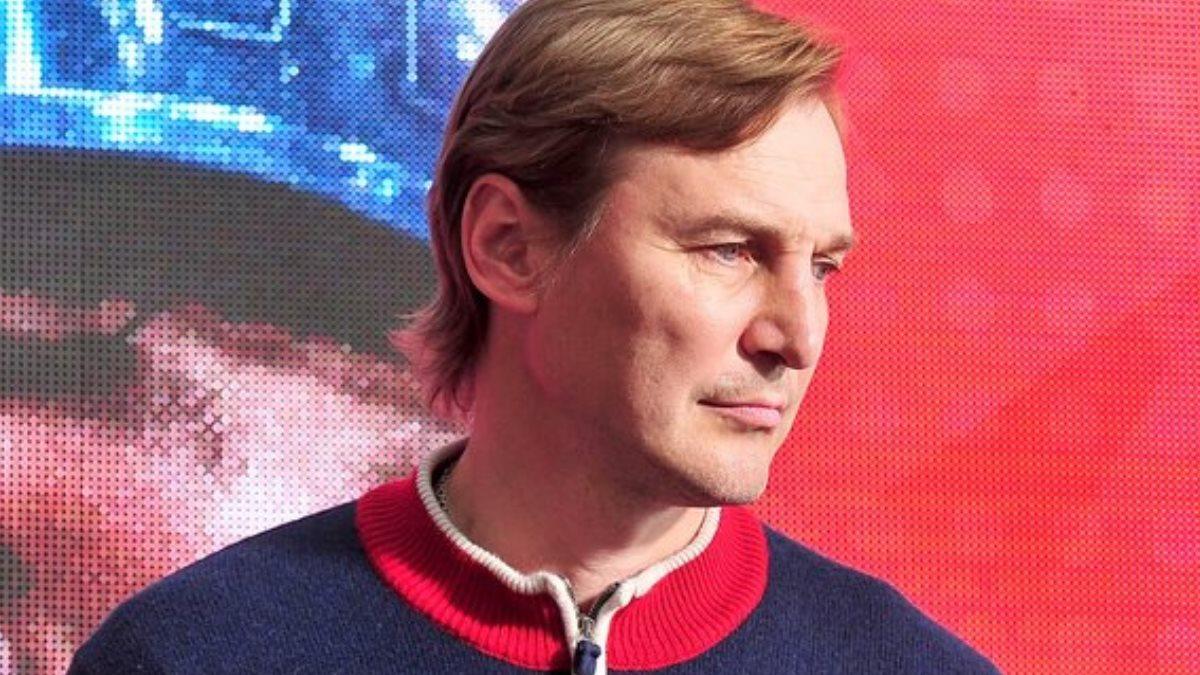 Главный менеджер ПХК ЦСКА Сергей Фёдоров хоккеист