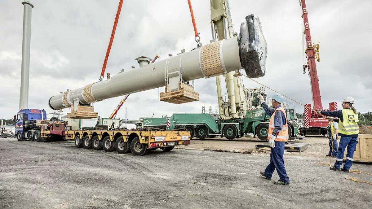 Северный поток 2 газопровод строительство трубы один