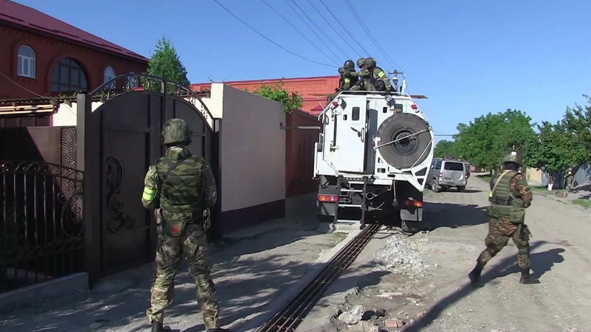 Спецназ Спецоперация ФСБ РФ в Ингушетии
