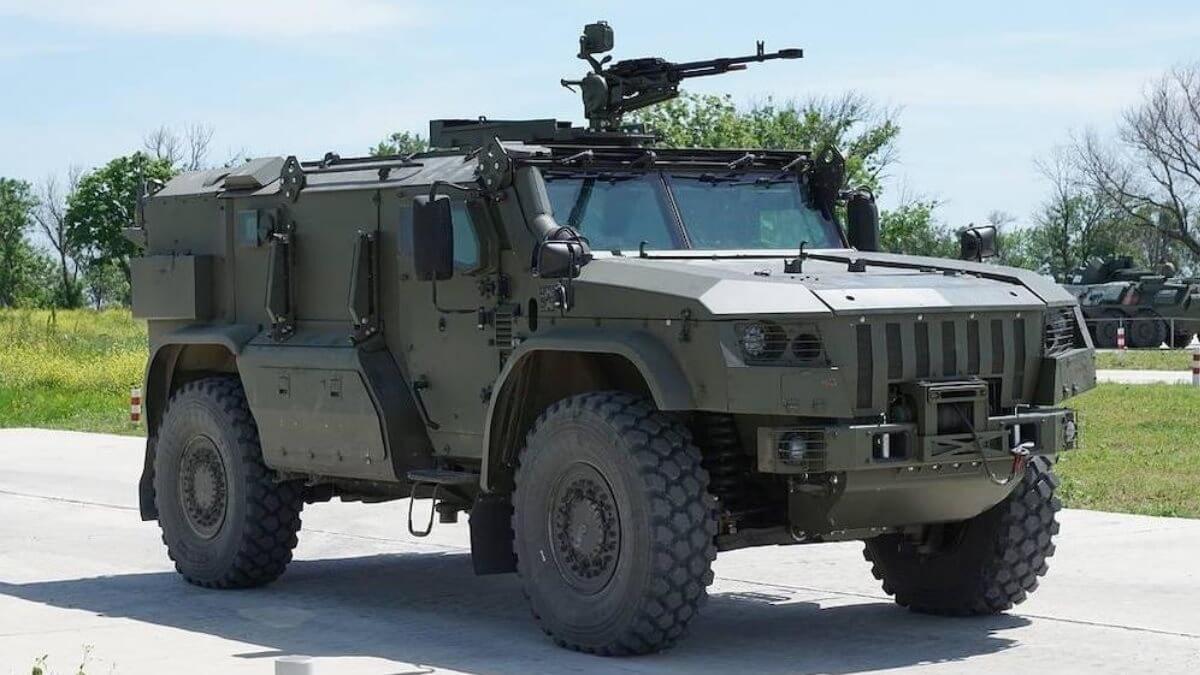 Защищённый автомобиль специального назначения Тайфун-ВДВ