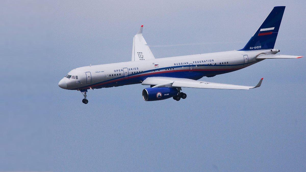Самолёт наблюдения Ту-214ОН Договор по открытому небу четыре