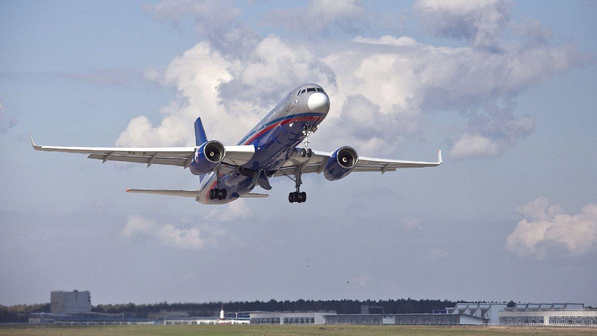 Самолёт наблюдения Ту-214ОН Договор по открытому небу пять
