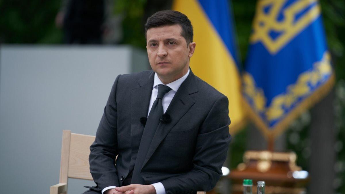 Владимир Зеленский недовольный