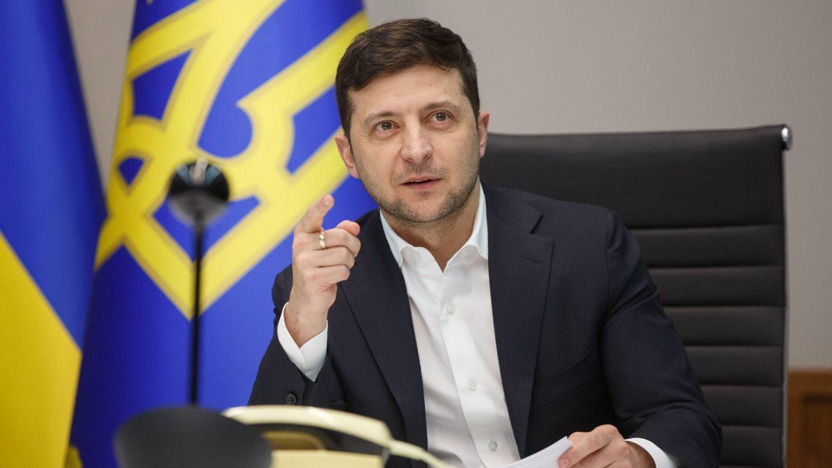 Владимир Зеленский заявляет предлагает