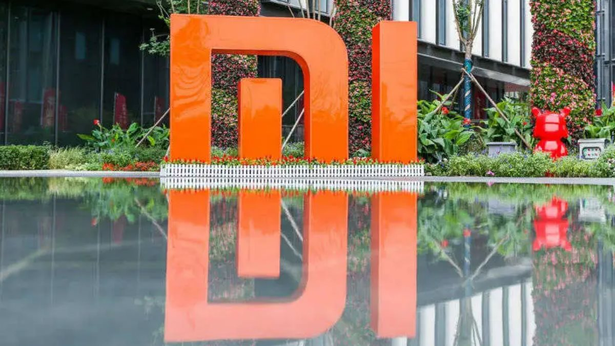 Xiaomi логотип отражение