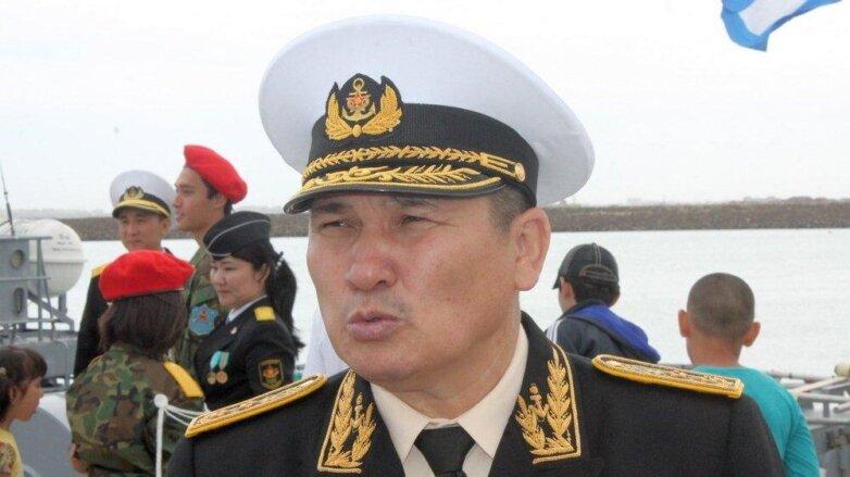 бывший казахстанский адмирал Жандарбек Жанзаков