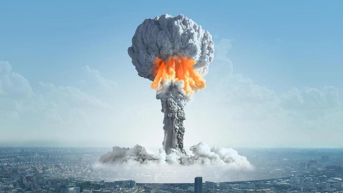 ядерный взрыв атомная бомба