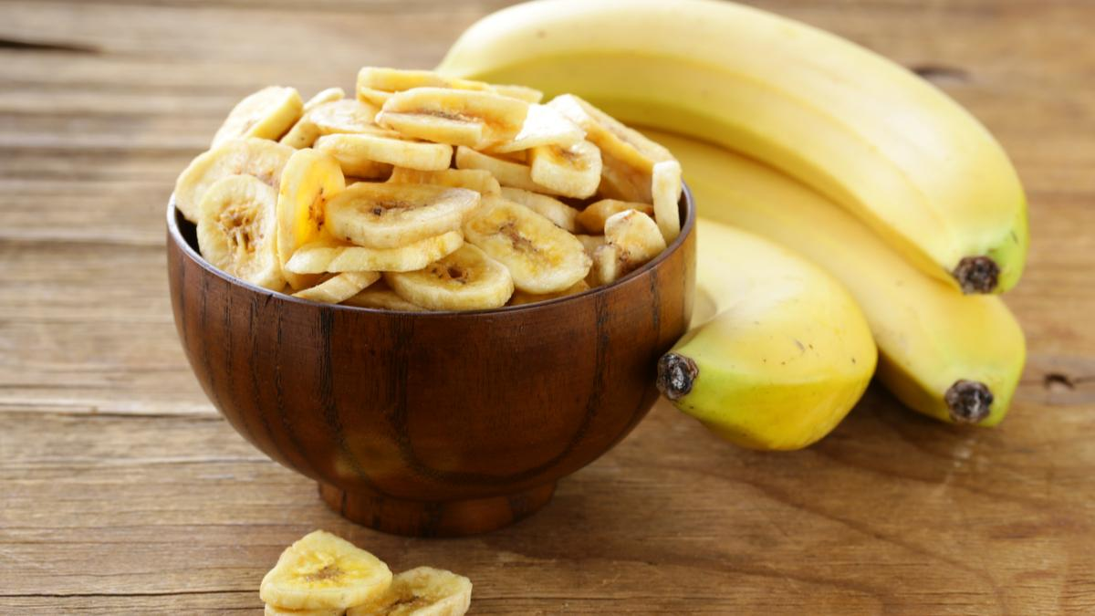 Бананы нарезанные в чашке