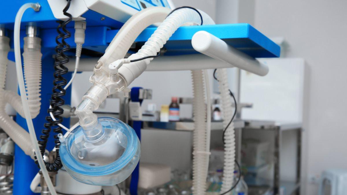 ИВЛ аппарат искусственной вентиляции лёгких