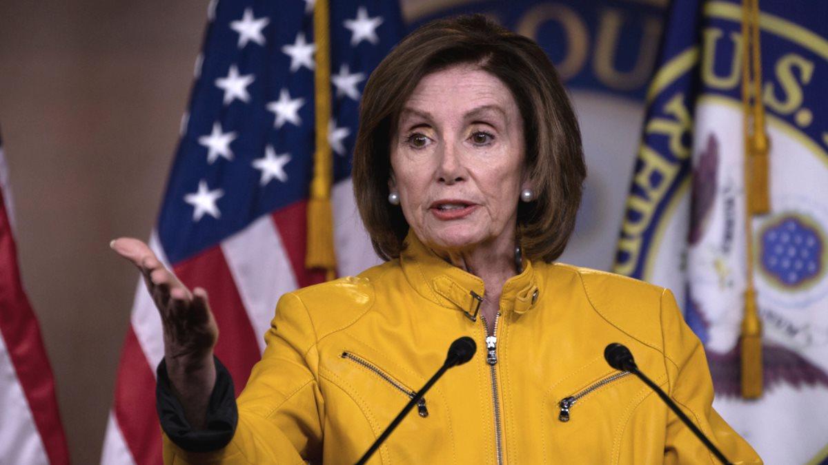 Спикер палаты представителей Конгресса США Нэнси Пелоси - Nancy Pelosi