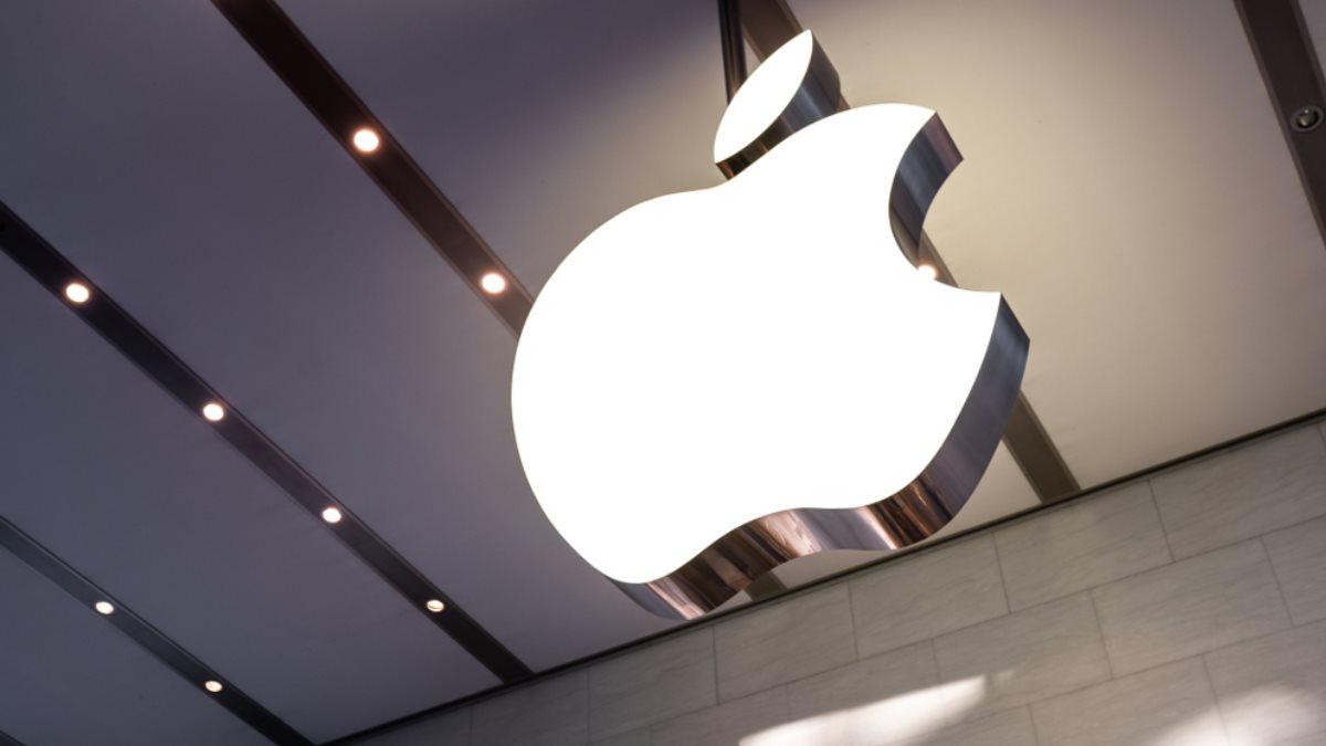 Apple логотип два