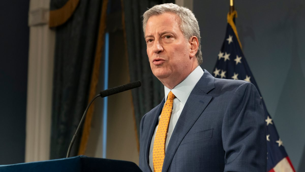 Мэр Нью-Йорка Билл Де Блазио - Bill De Blasio США