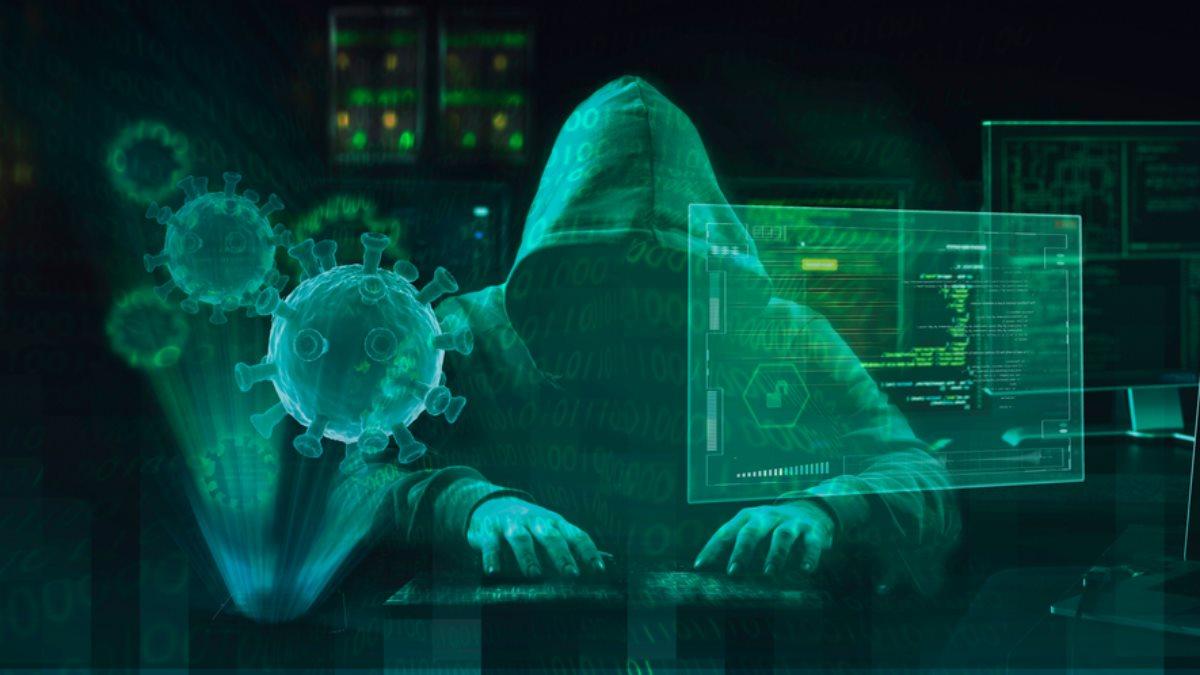 Хакер коронавирус взлом
