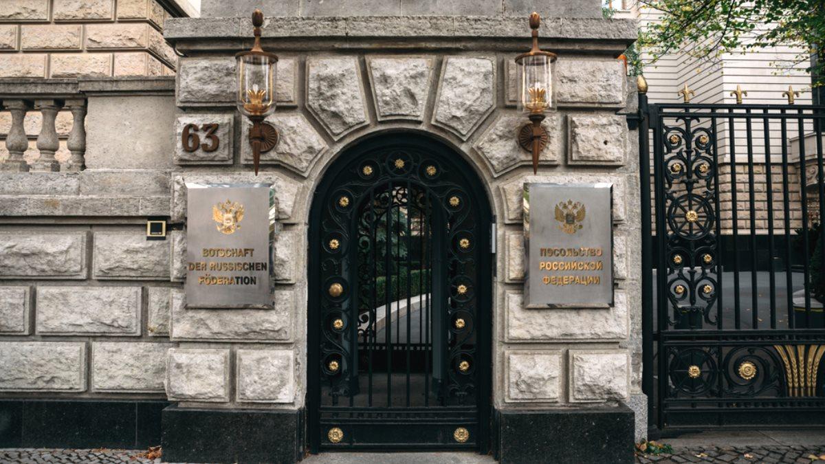 Посольство России в Берлине Германия лето
