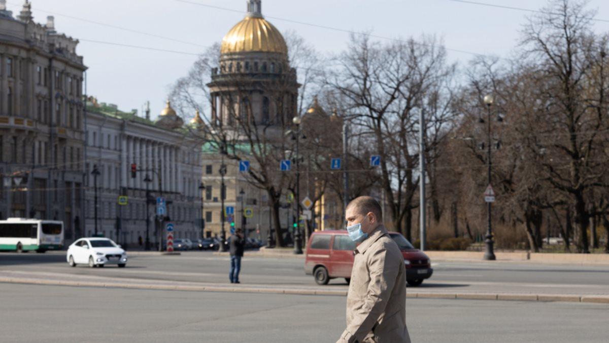 Санкт-Петербург теплая осень