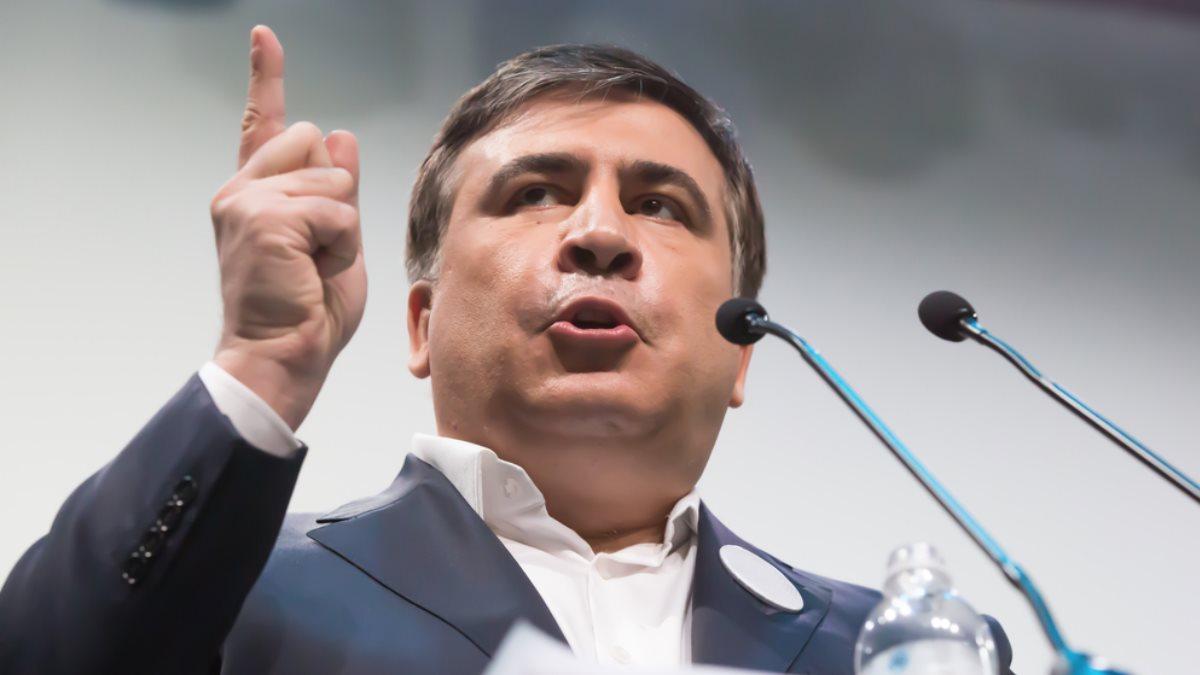 Михаил Саакашвили - Mikhail Saakashvili трибуна