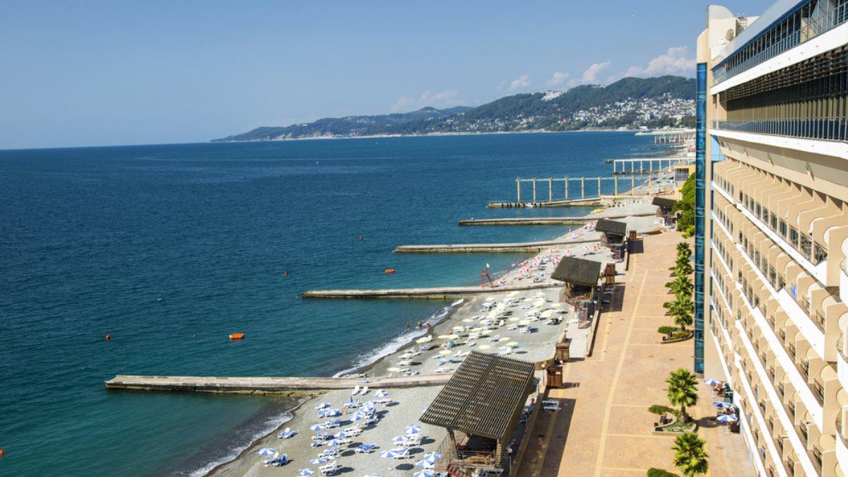 Сочи Краснодарский край курорт туризм отель пляж