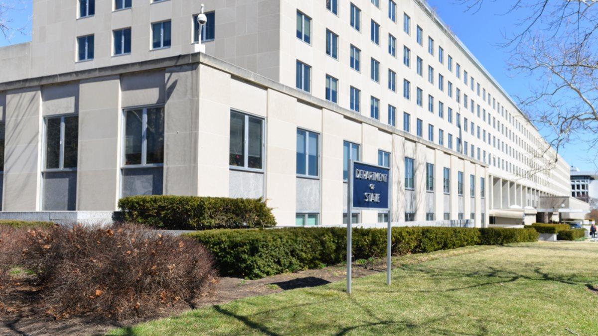 Здание Госдепартамента США в Вашингтоне два