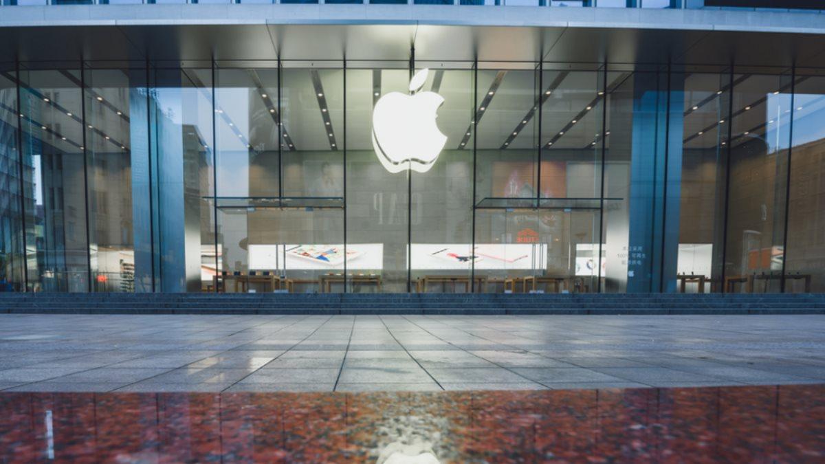Apple store магазин логотип один