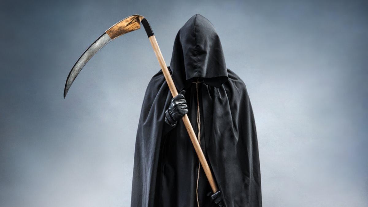 Смерть с косой Мрачный Жнец