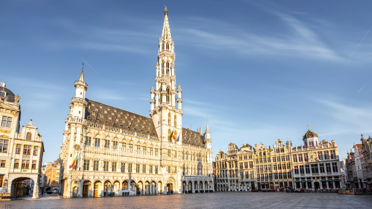 Гран-Плас Брюссель Бельгия ратуша туризм