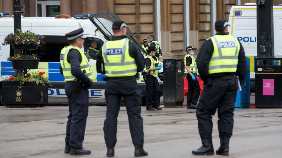 Шотландия Великобритания полиция