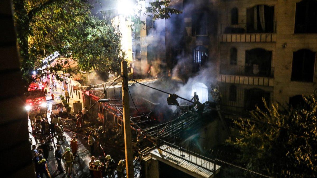 Тегеран Иран взрыв в клинике