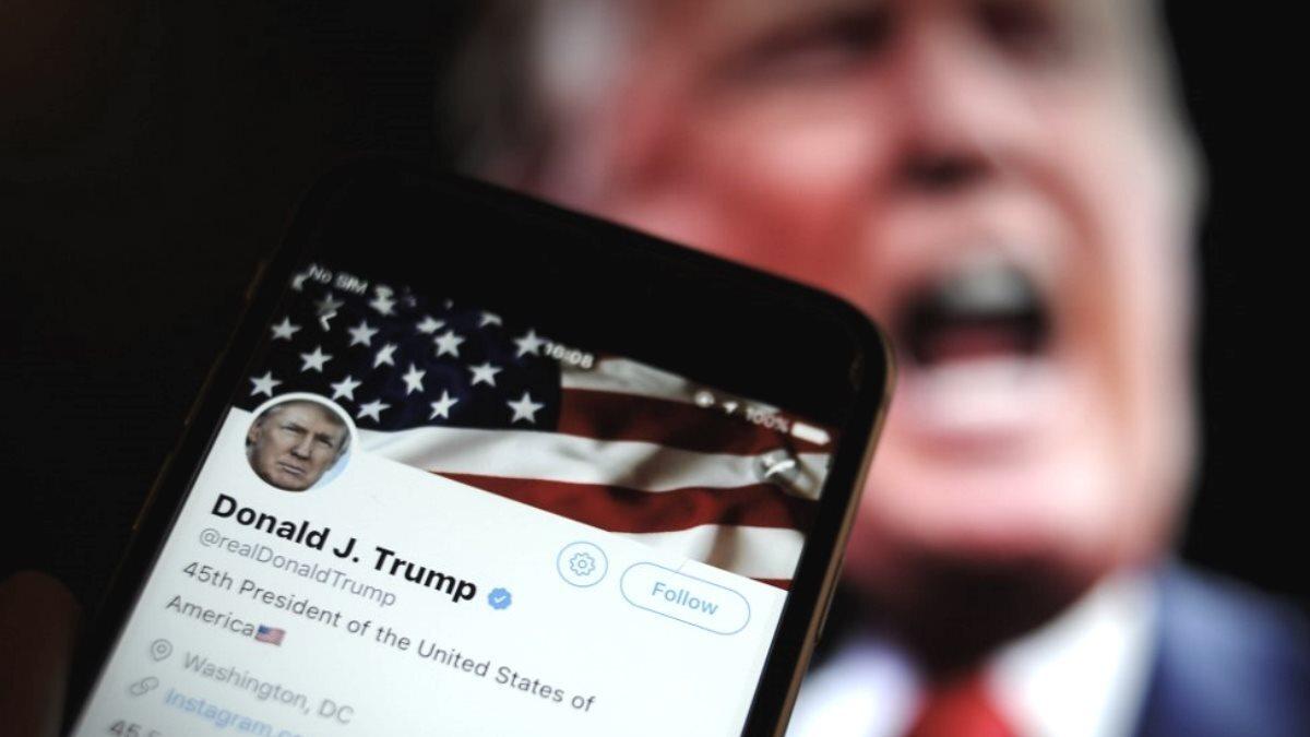 Дональд Трамп Твиттер Twitter один