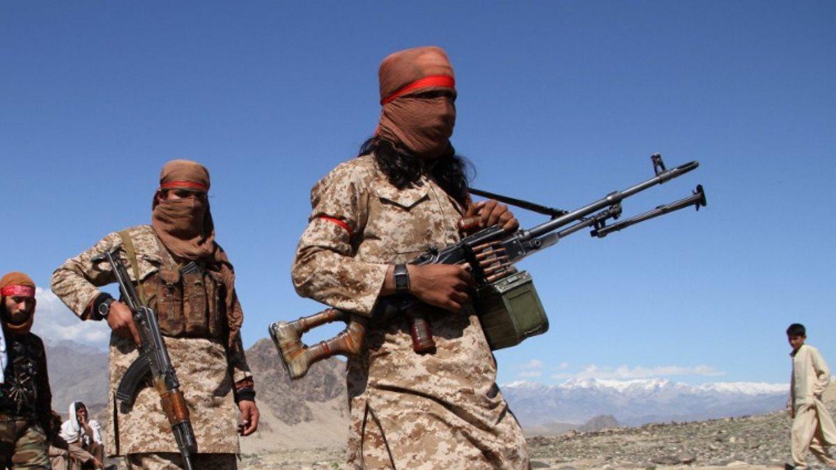 Боевики радикального движения Талибан