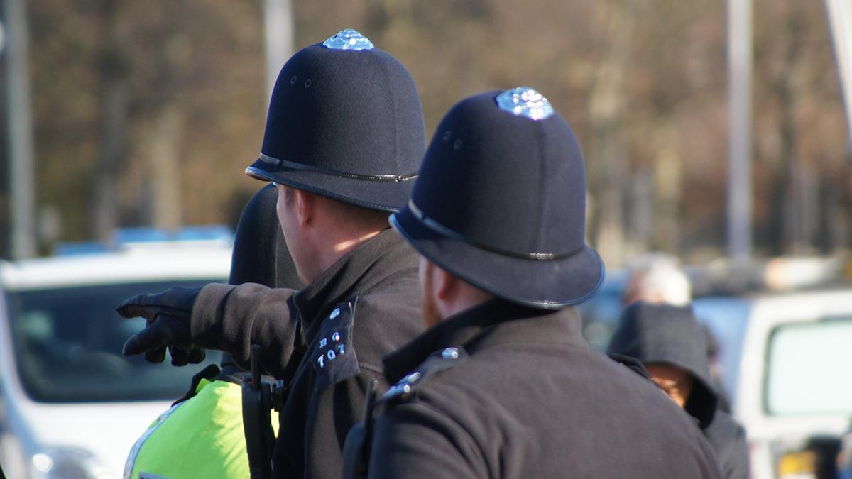 Лондонская Британская полиция