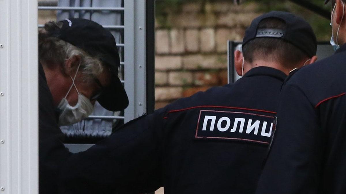 Актёр Михаил Ефремов и полиция