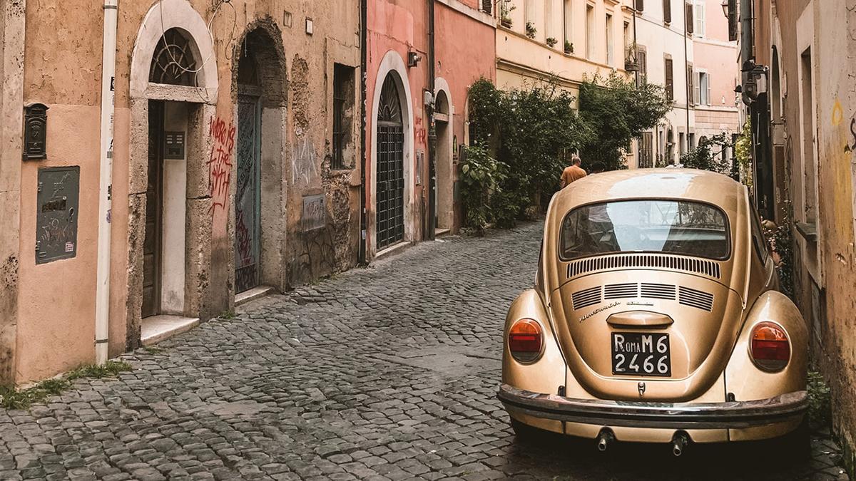 Италия Итальянская улица автомобиль машина