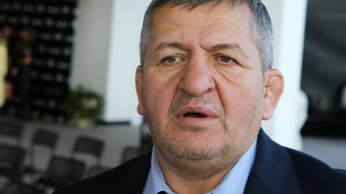 Тренер Абдулманап Нурмагомедов интервью