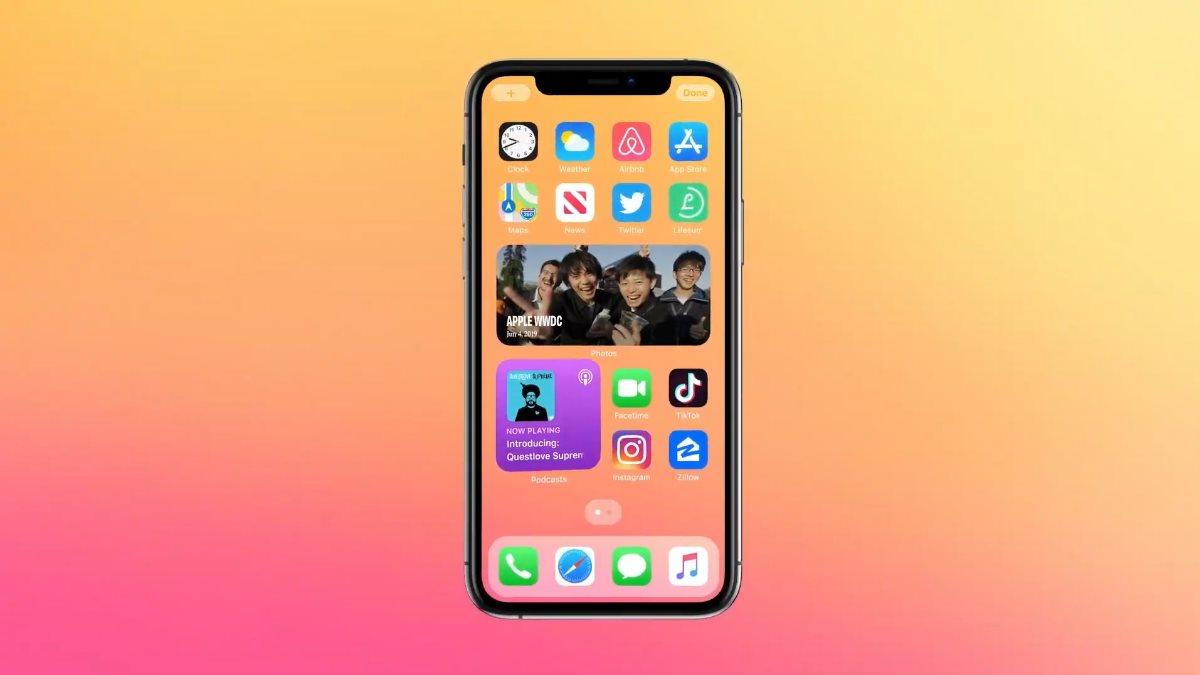 Apple представила iOS 14 два
