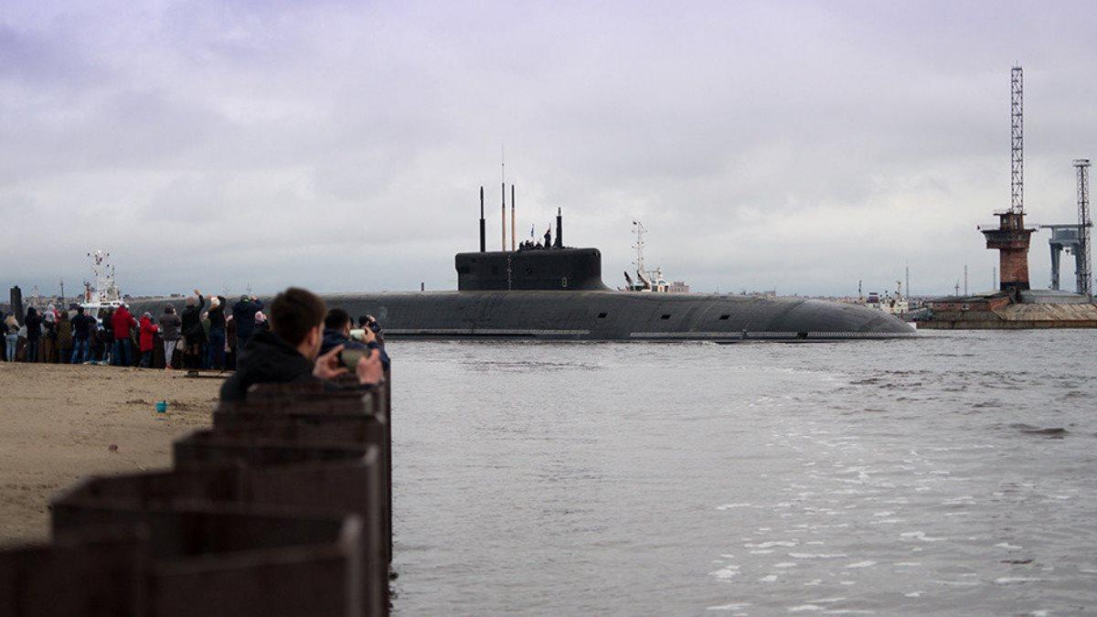 Атомная подводная лодка К-549 Князь Владимир проекта 955А - Борей-А