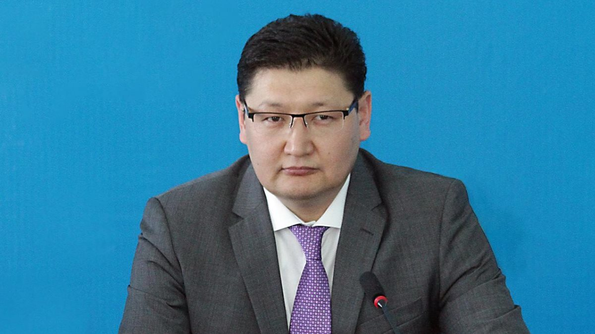 Пресс-секретарь Президента Республики Казахстан Берик Уали
