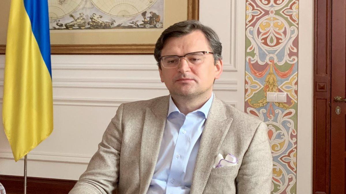 Министр иностранных дел Украины Дмитрий Кулеба один