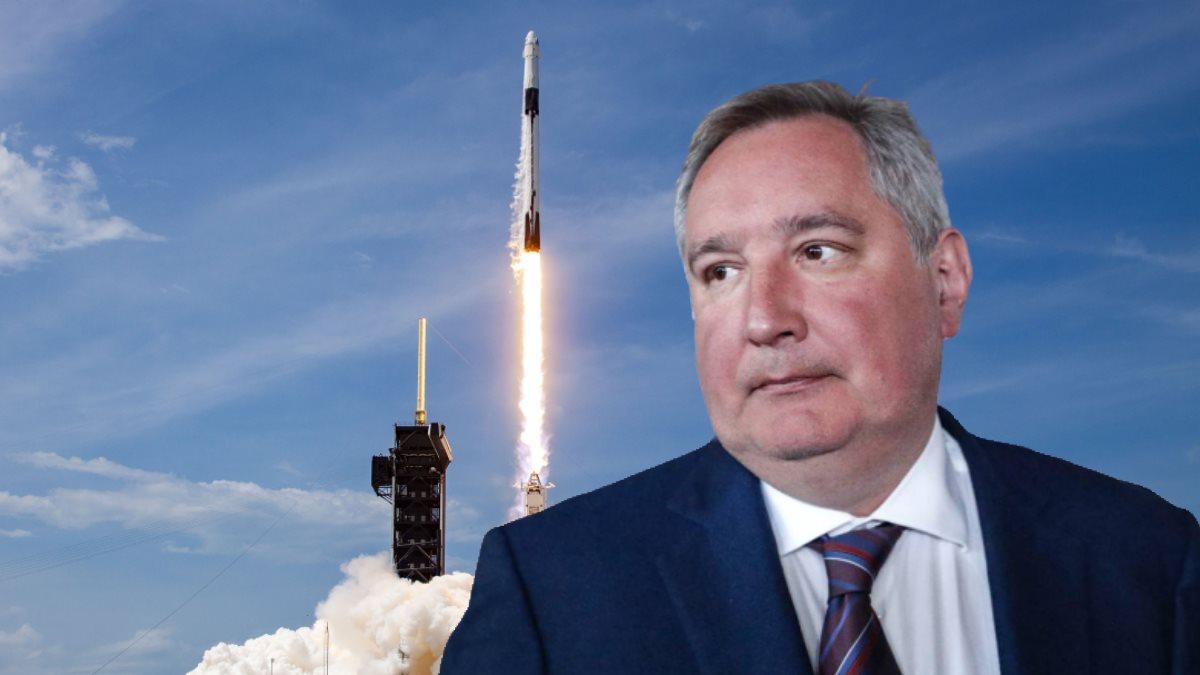 Дмитрий Рогозин и американская ракета