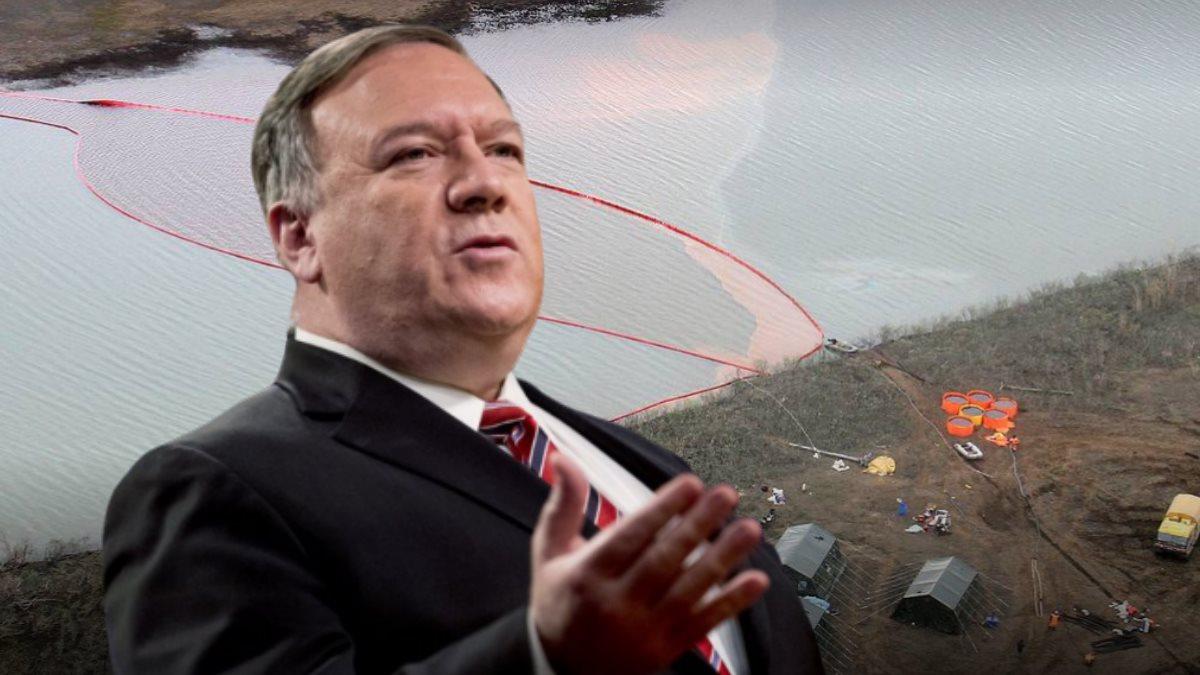 Майкл Помпео и разлив нефтепродуктов на ТЭЦ в Норильске