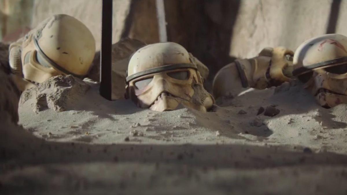 Кадр из сериала Мандалорец три