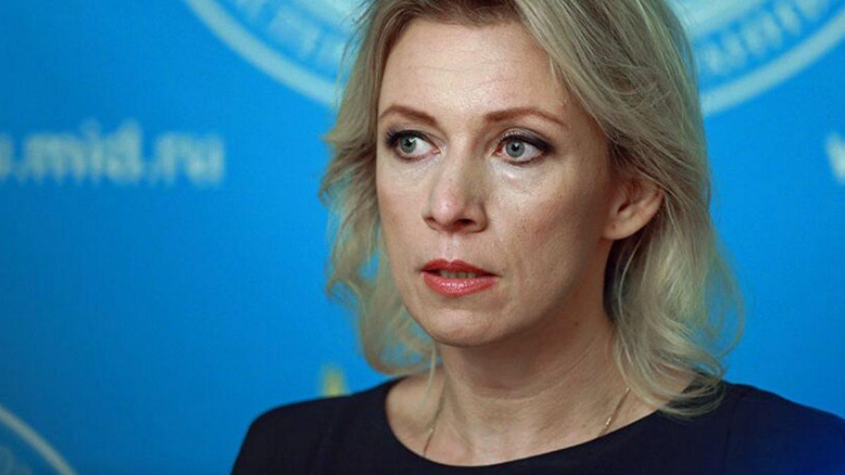 Официальный представитель МИД России Мария Захарова три