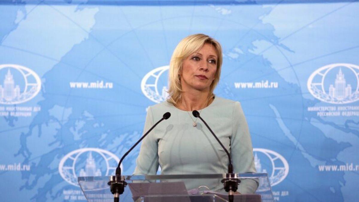 Официальный представитель МИД России Мария Захарова четыре