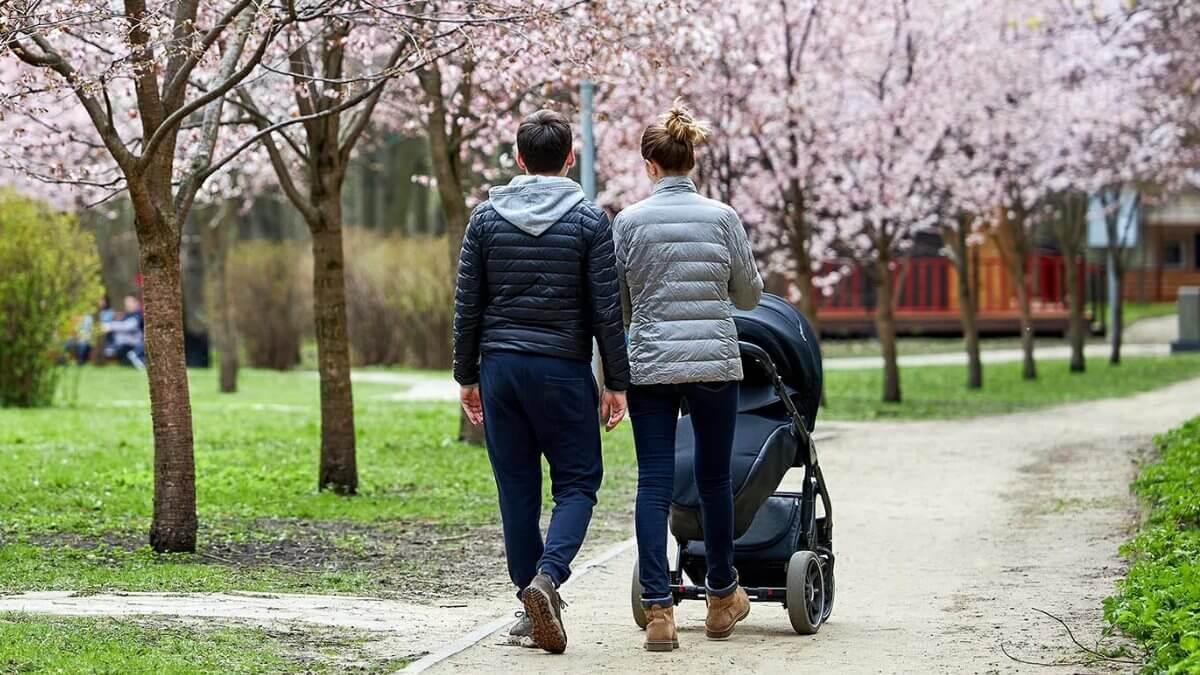 Молодая семья ребёнок дети рождаемость материнский капитал демография